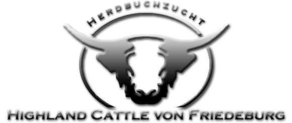 Logo - Highland Cattle von Friedeburg